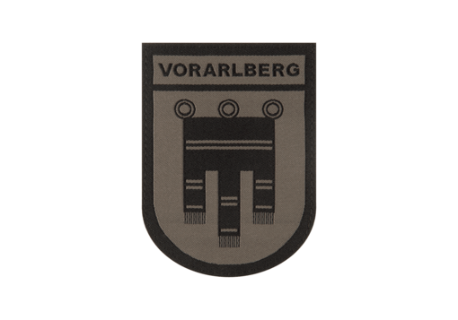 Vorarlberg Shield Patch RAL7013