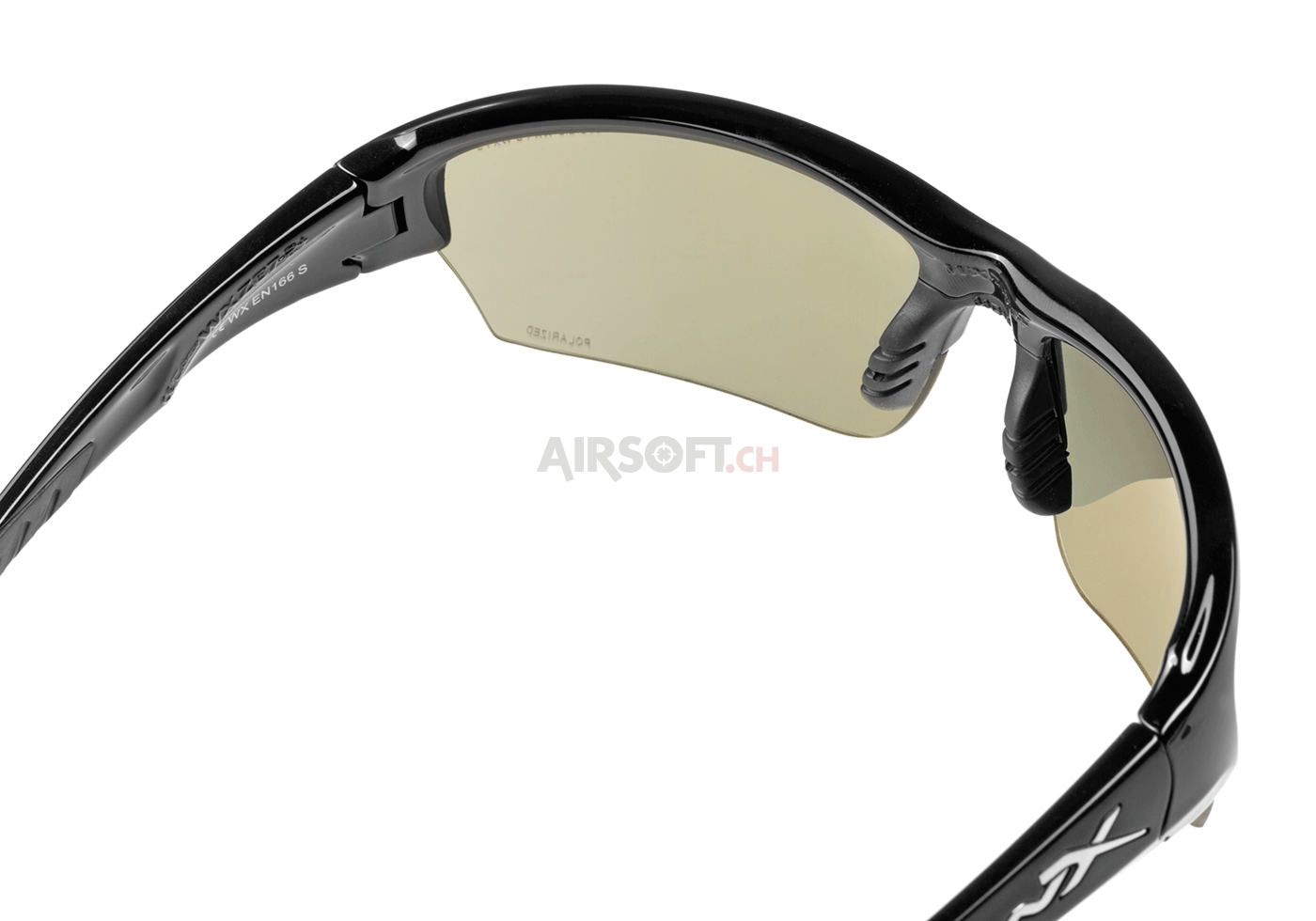 548d74381ed56 WX Saint Polarized Black (Wiley X) - Glasses Polarized - Eyewear -  Protective Equipment - airsoft.ch Online shop