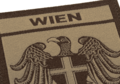 Wien Shield Patch Desert