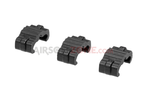 Wire-Clip Kit 3-Pack Black (Manta)