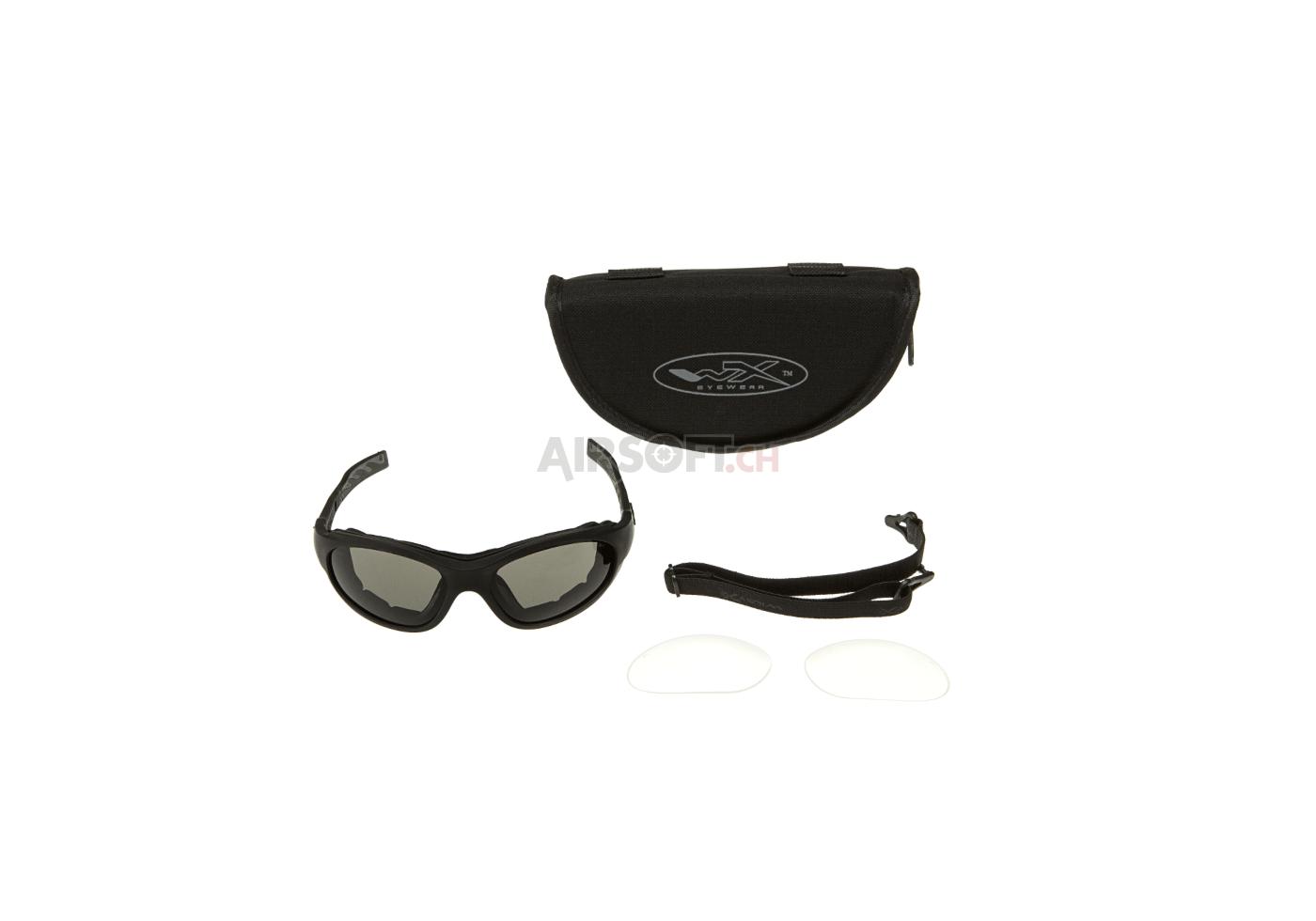 bd3487dd2 XL-1 Advanced Goggles Black (Wiley X) - Goggles - Schutzbrillen -  Schutzausrüstung - airsoft.ch Onlineshop