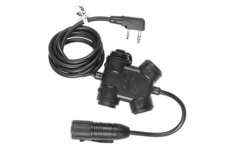 ZSLX-Clarus-PTT-Kenwood-Connector-Black-Z-Tactical