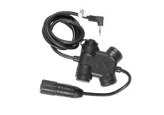 ZSLX-Clarus-PTT-Motorola-1-Pin-Connector-Black-Z-Tactical