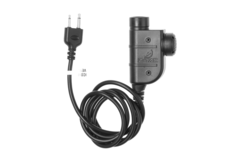 ZSLX-PTT-ICOM-Connector-Black-Z-Tactical