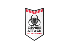 Zombie-Attack-Rubber-Patch-White-JTG